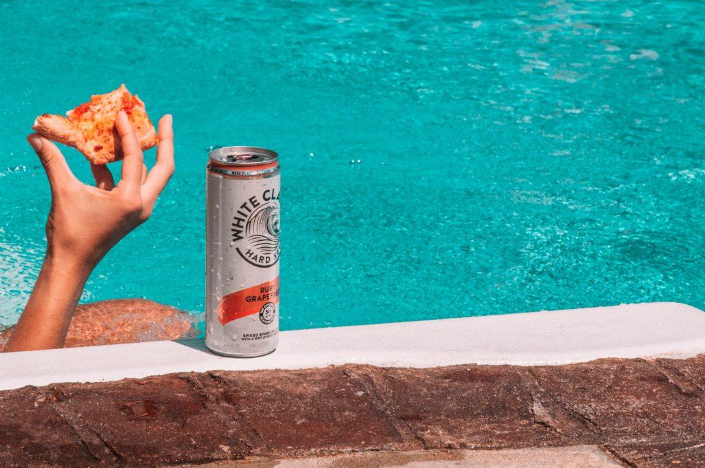 eau gazeuse alcoolisée White claw