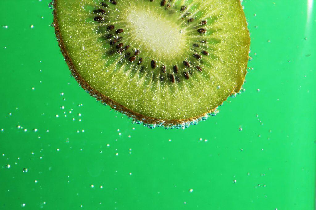 eau seltzer alcoolisée kiwi