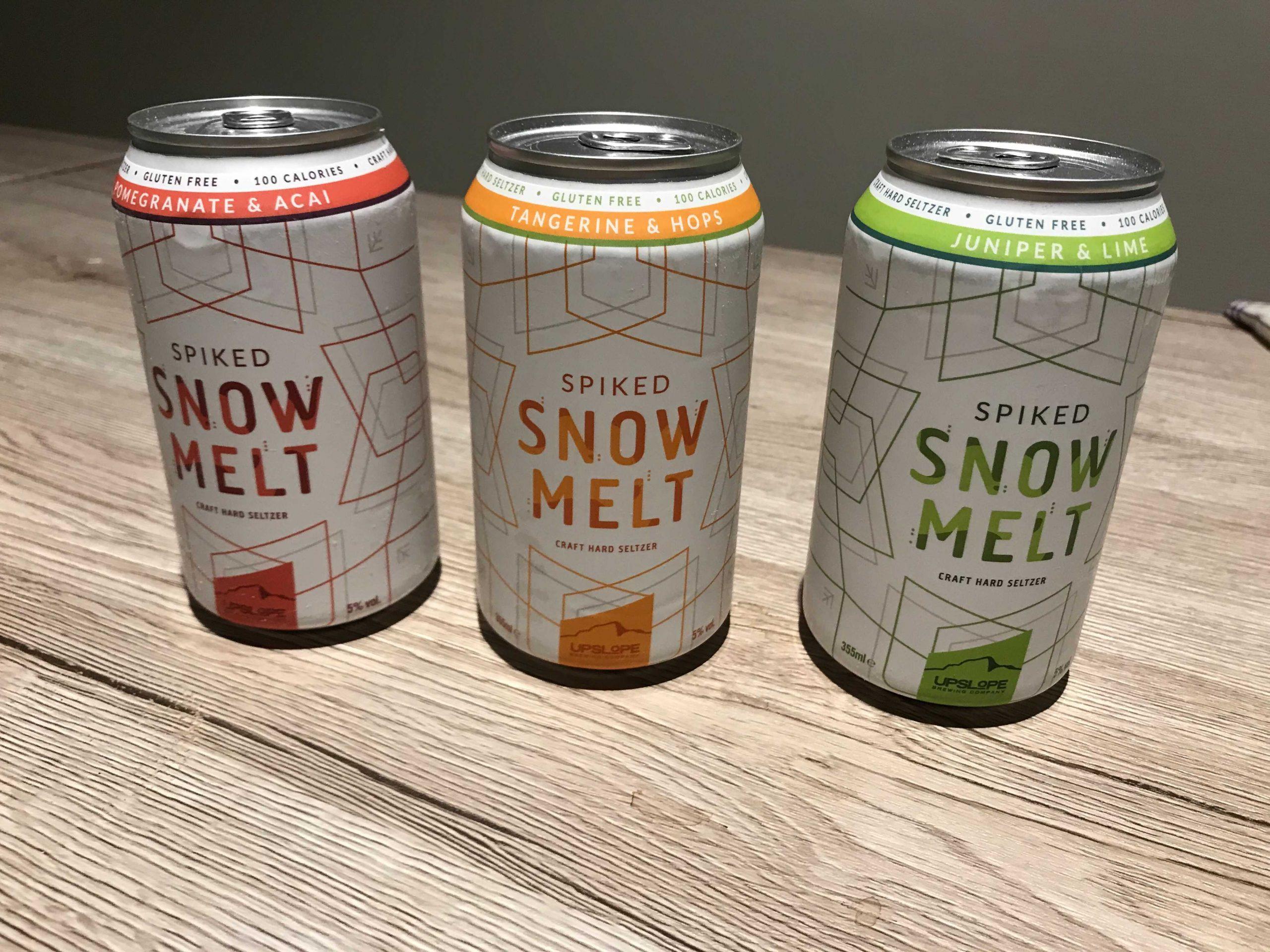 snow melt 3 saveurs