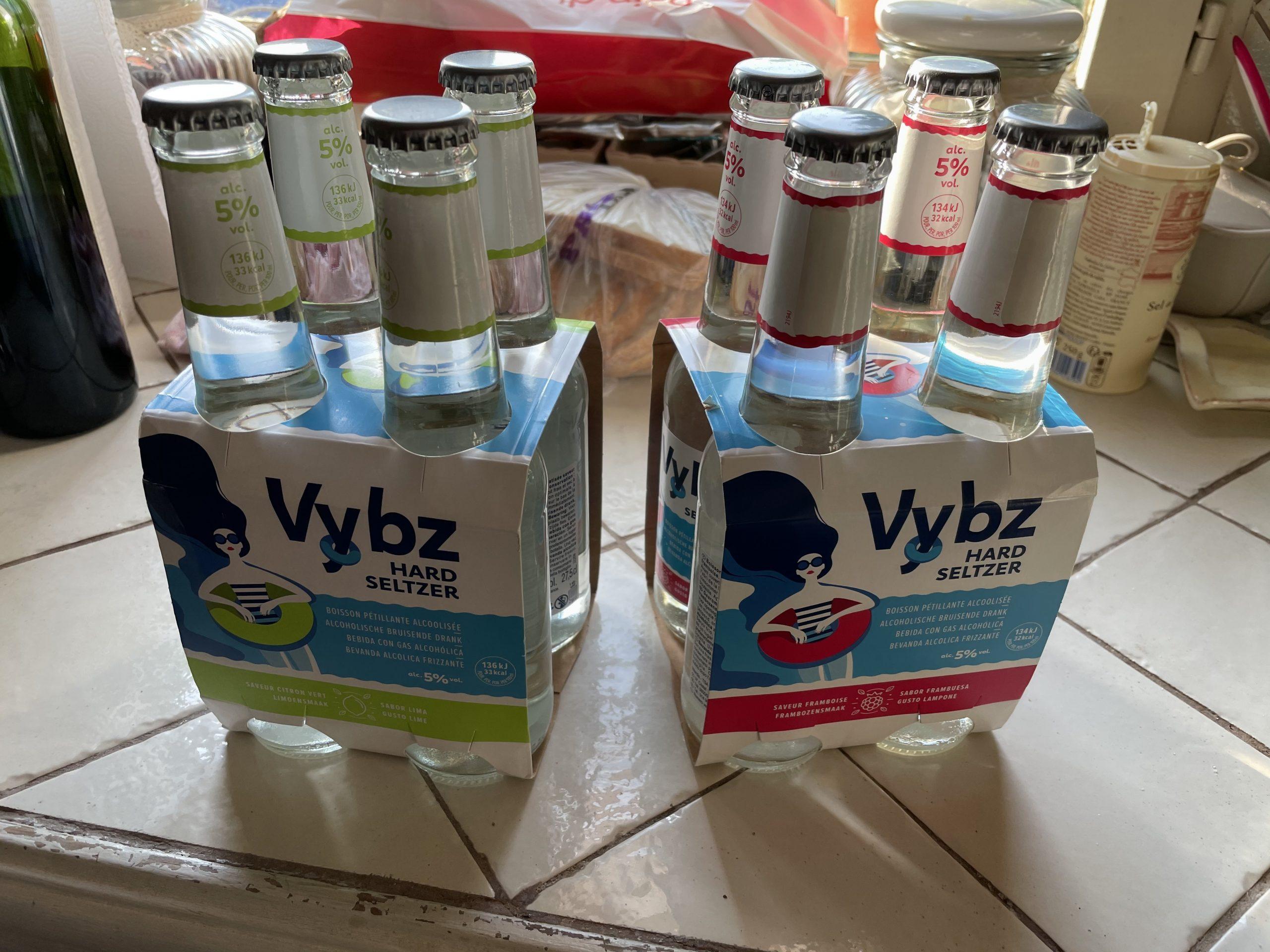 Vybz : On a testé le hard seltzer lancé par Carrefour