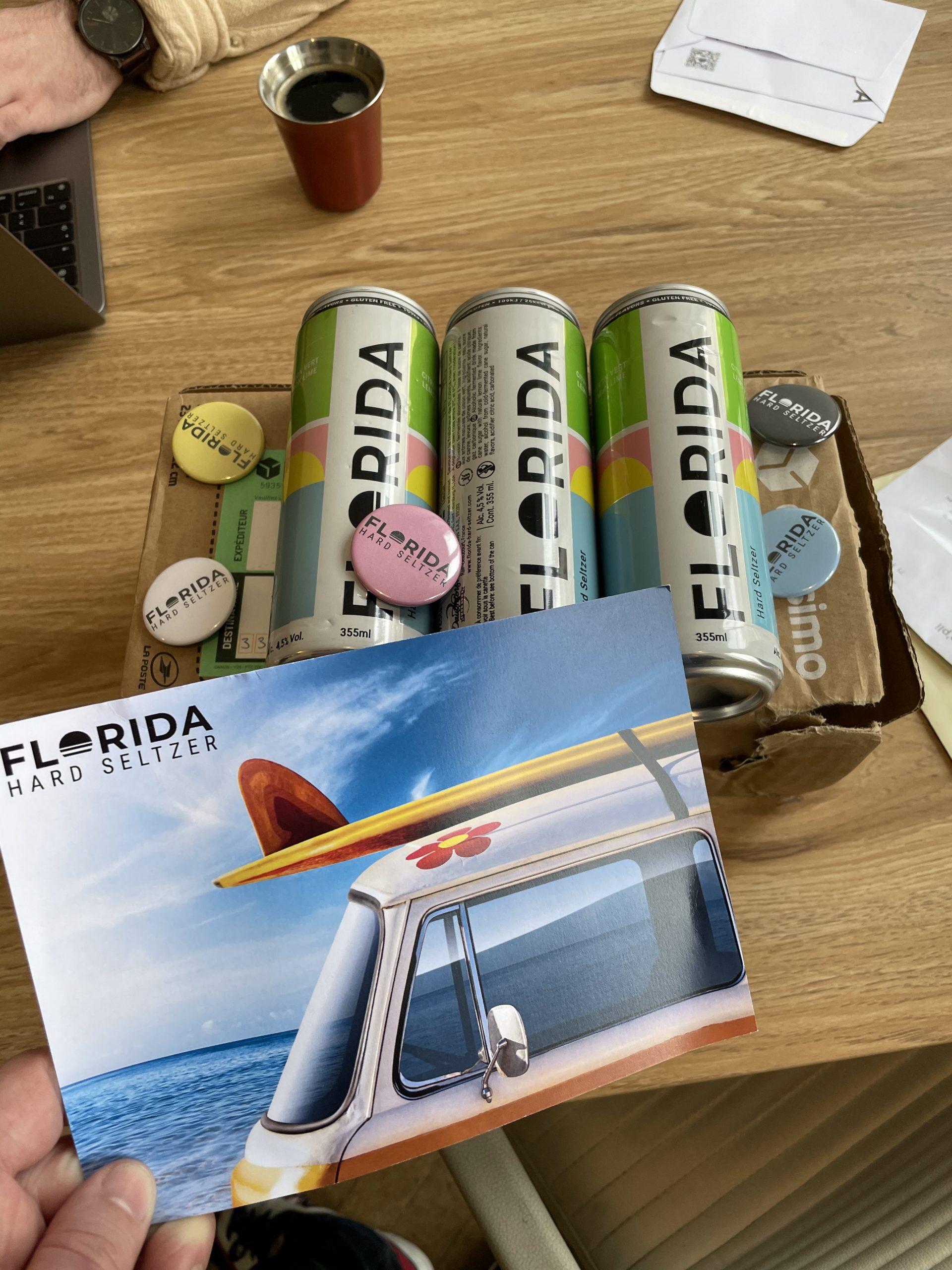 Florida : Découverte et test du hard seltzer de la marque
