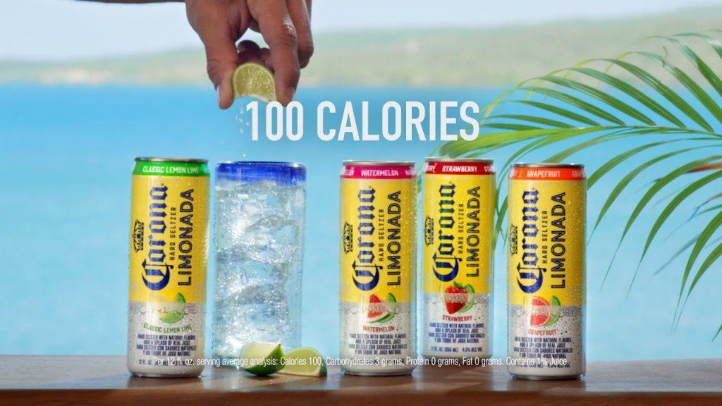 corona hard seltzer limonade